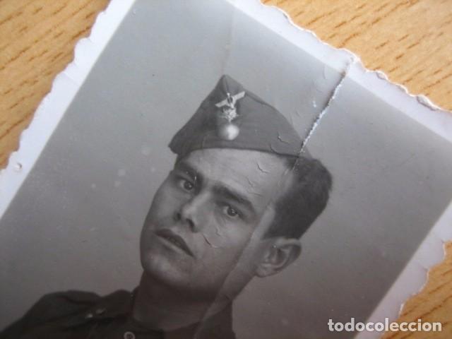 FOTOGRAFÍA SOLDADO ARTILLERÍA ANTIAÉREA DEL EJÉRCITO NACIONAL. GUERRA CIVIL (Militar - Fotografía Militar - Guerra Civil Española)