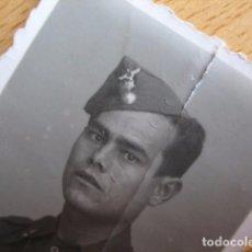 Militaria: FOTOGRAFÍA SOLDADO ARTILLERÍA ANTIAÉREA DEL EJÉRCITO NACIONAL. GUERRA CIVIL. Lote 69372085