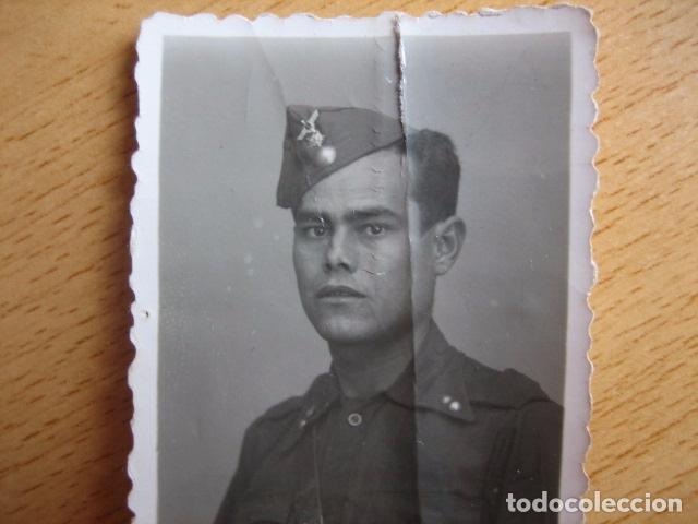 Militaria: Fotografía soldado artillería antiaérea del ejército nacional. Guerra Civil - Foto 2 - 69372085