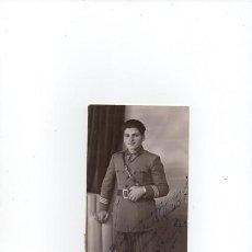 Militaria: FOTO -POSTAL - MILITAR ...FOTOGRAFIA - AÑOS 20-30. Lote 69806393
