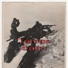 Militaria: (ALB-TC-5) LOTE DE FOTOGRAFIAS DE PRENSA ORIGINALES DE LA II GUERRA MUNDIAL CON SELLO WELTBILD. Lote 69893877