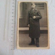 Militaria: ANTIGUA FOTOGRAFÍA SOLDADO , II GUERRA MUNDIAL ALEMANIA. EJERCITO NAZI. FOTO. Lote 70171949