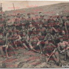 Militaria: FOTOGRAFÍA ANTIGUA REGIMIENTO 21 GUERRA DEL RIF GUERRA DE MARRUECOS GUERRA DE AFRICA. Lote 70285525