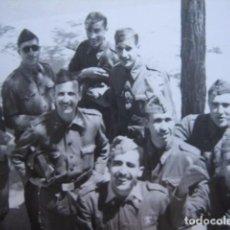 Militaria: FOTOGRAFÍA SOLDADOS INGENIEROS DEL EJÉRCITO ESPAÑOL.. Lote 70367177