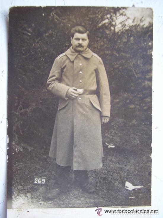 FOTO DE SOLDADO ALEMAN. 1ª GUERRA MUNDIAL (Militar - Fotografía Militar - I Guerra Mundial)