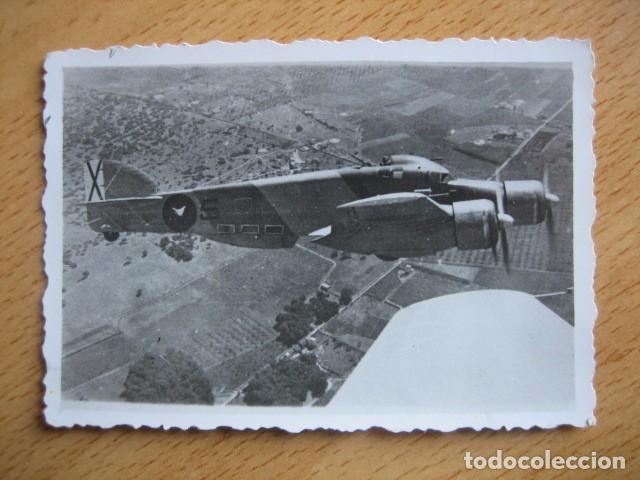 FOTOGRAFÍA SAVOIA MARCHETTI SM-79. AVIACIÓN LEGIONARIA BALEARES (Militar - Fotografía Militar - Guerra Civil Española)