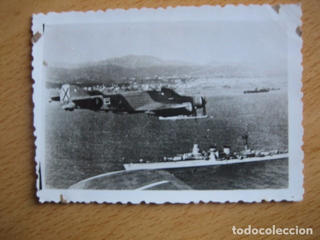 Militaria: Fotografía Savoia Marchetti SM-79. Aviación Legionaria Baleares - Foto 2 - 71032445