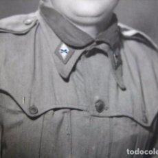 Militaria: FOTOGRAFÍA SOLDADO DEFENSA QUÍMICA DEL EJÉRCITO ESPAÑOL. INCA 1953. Lote 71175257