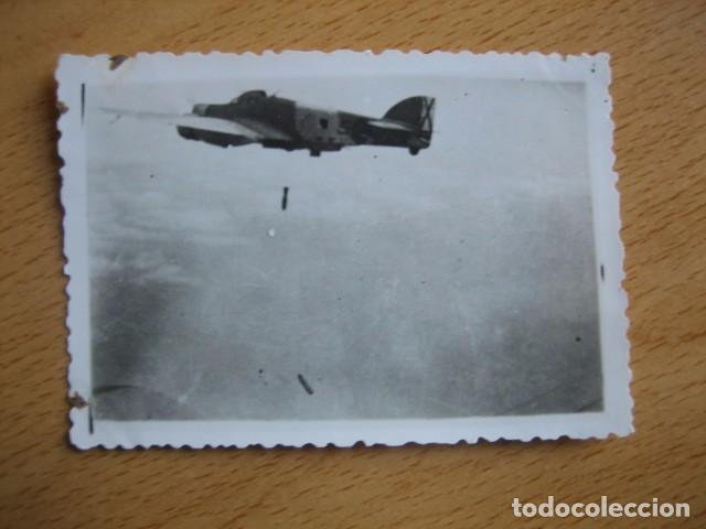 Militaria: Fotografía Savoia Marchetti SM-79. Aviación Legionaria Baleares - Foto 2 - 71187529
