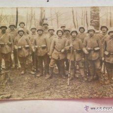 Militaria: FOTO DE SOLDADOS ALEMANES CON CASCO ACERO. EN EL FRENTE. COMBATIENTES DE LA 1ª GUERRA MUNDIAL. Lote 71246611