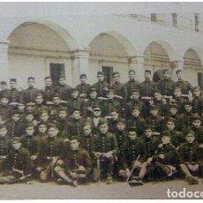 Militaria: FOTOGRAFIA DE GRUPO DE MILITARES,MIDE 15 X 10 CM. Lote 71691587