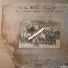 Militaria: ESCUELA MILITAR ALFONSO XIII VALENCIA 1921. Lote 72183026
