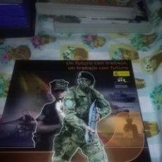 Militaria: UN FUTURO CON TRABAJO, UN TRABAJO CON FUTURO. NUEVO PRECINTADO. Lote 72237599