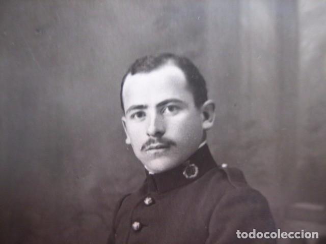 FOTOGRAFÍA SOLDADO DEL EJÉRCITO ESPAÑOL. REGIMIENTO INFANTERÍA 50 (Militar - Fotografía Militar - Otros)