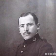 Militaria: FOTOGRAFÍA SOLDADO DEL EJÉRCITO ESPAÑOL. REGIMIENTO INFANTERÍA 50. Lote 72454731