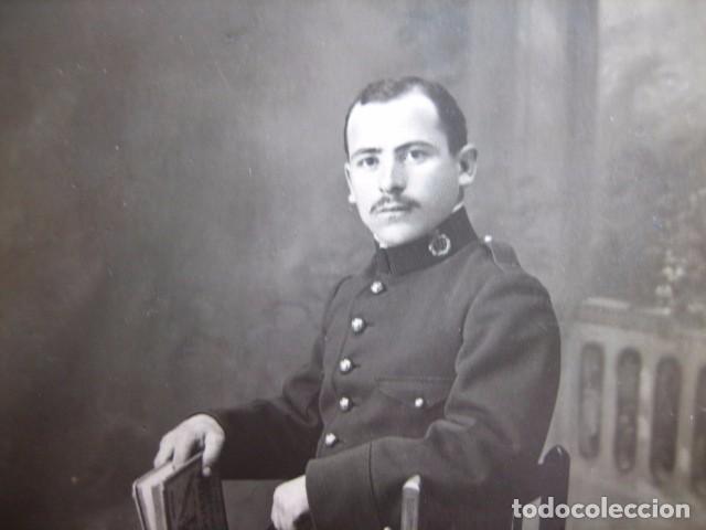 Militaria: Fotografía soldado del ejército español. Regimiento infantería 50 - Foto 3 - 72454731