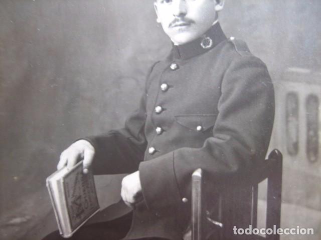 Militaria: Fotografía soldado del ejército español. Regimiento infantería 50 - Foto 4 - 72454731