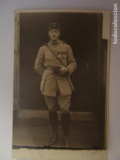 FOTOGRAFIA POSTAL MILITAR 1919 (Militar - Fotografía Militar - I Guerra Mundial)