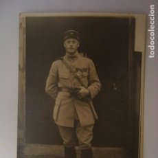 Militaria: FOTOGRAFIA POSTAL MILITAR 1919. Lote 72735491