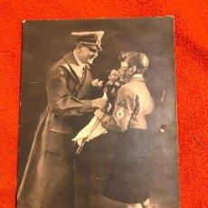 Militaria: FOTOGRAFÍA ORIGINAL. ADOLF HITLER. TERCER REICH.BUND DEUTSCHER MÄDEL, FUHRER, NAZI. Lote 194339036