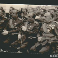 Militaria: CÁDIZ.FOTOGRAFÍA DE MILITARES DE ALTA GRADUACIÓN MUY CONDECORADOS.FECHADA EN 1962. Lote 73045583