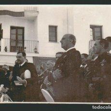 Militaria: VISITA DE FRANCISCO FRANCO A UN LUGAR POR IDENTIFICAR.7 FOTOGRAFÍAS.AÑOS 60S.. Lote 73418347