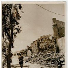 Militaria: FOTOGRAFIA II GUERRA MUNDIAL - TOBRUK, DESTRUIDO POR LOS COMBATES. Lote 73451811