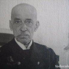 Militaria: FOTOGRAFÍA ALMIRANTE DE MARINA. ALFONSO XIII. Lote 73640967