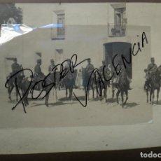Militaria: GRAN FOTO, 2 FOTOGRAFIAS MANIOBRAS MILITARES 1906 ALMANSA ALBACETE, VENTA DE LA VEGA, SIERRA MUGRON. Lote 73657987