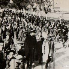 Militaria: BENITEZ CASAUX. COLUMNA DE PRISIONEROS TRAS LOS SUCESOS DE JACA. HUESCA. 1931. REPUBLICA. Lote 73670315