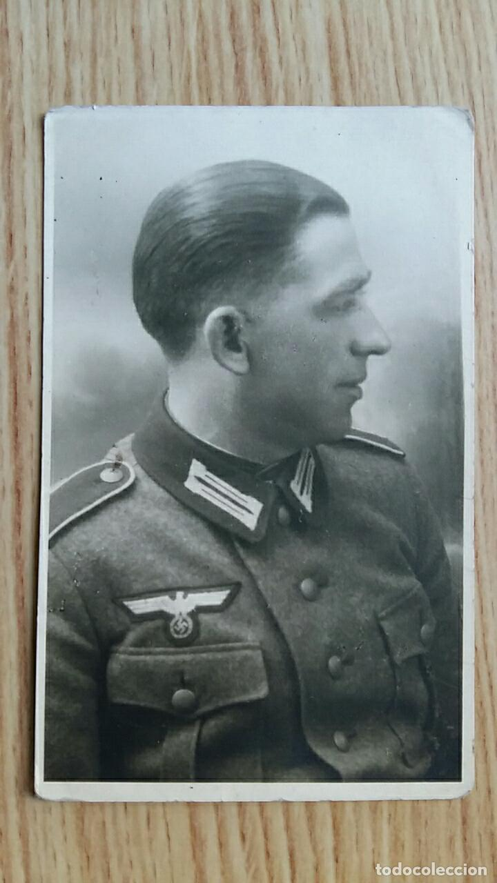 ANTIGUA FOTOGRAFIA MILITAR. MILITAR NAZI. ALEMANIA (Militar - Fotografía Militar - II Guerra Mundial)