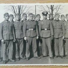 Militaria: ANTIGUA FOTOGRAFIA. GRUPO DE MILITARES NAZIS, ALEMANIA. Lote 73672063