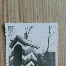 Militaria: ANTIGUA FOTOGRAFIA. MILITAR NAZI DE GUARDIA, ALEMANIA. Lote 73672615