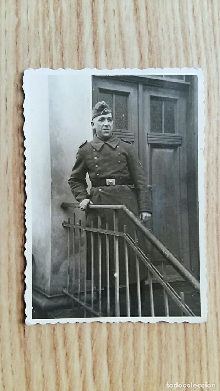 ANTIGUA FOTOGRAFIA. MILITAR NAZI, ALEMANIA (Militar - Fotografía Militar - II Guerra Mundial)