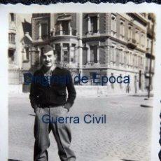 Militaria: (JX-170160)FOTOGRAFÍA ÁLBUM FAMILIAR DE LA SALIDA DE LAS MILICIAS ANTIFASCISTAS HACIA EL FRENTE. Lote 73929999