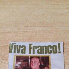 Militaria: FOTOGRAFIA FRANCO - ¡VIVA FRANCO!. Lote 73931551