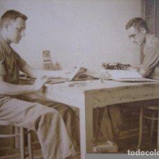 Militaria: FOTOGRAFÍA SOLDADOS DEL EJÉRCITO POPULAR DE LA REPÚBLICA. BAZA 1938. Lote 75026751