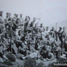 Militaria: FOTOGRAFÍA MOROS ZAPADORES. REGULARES CEUTA. Lote 75145419