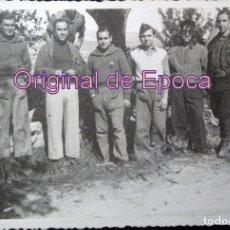 Militaria: (JX-170253) FOTOGRAFIA VOLUNTARIOS DEL EJERCITO POPULAR CATALÁN, PROBABLEMENTE FRENTE DE GUADALAJARA. Lote 76065163