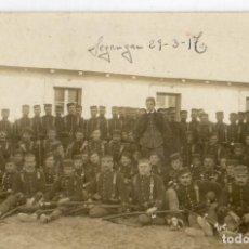 Militaria: ANTIGUA POSTAL MILITAR DE MELILLA -SEGANGA 29-3-1917. Lote 76182395