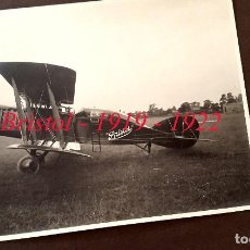 Militaria: AVIACIÓN - BRISTOL - 1919 - 1922. Lote 76231455