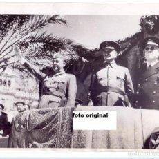 Militaria: PARADA MILITAR SEVILLA GUERRA CIVIL CON FRANCO QUEIPO DE LLANO Y ALMIRANTE CERVERA. Lote 76355611