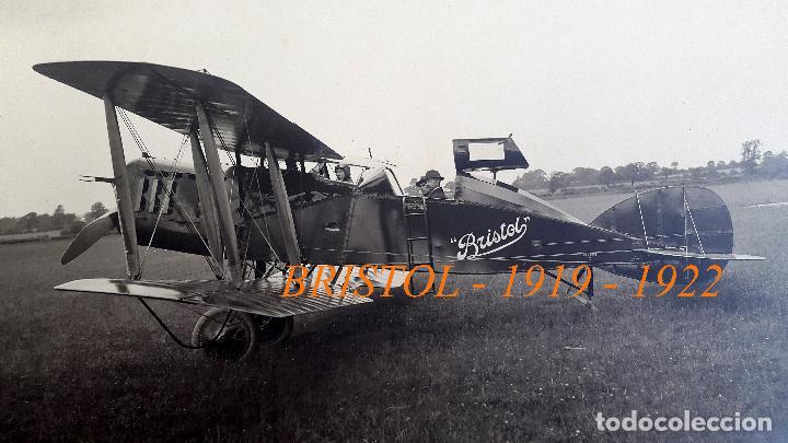AVIACIÓN - BRISTOL - 1919 - 1922 (Militar - Fotografía Militar - Otros)
