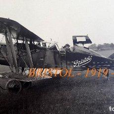 Militaria: AVIACIÓN - BRISTOL - 1919 - 1922. Lote 76227335