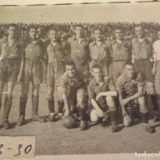 Militaria: FOTO RIAZOR (LA CORUÑA) FINAL CAMPEONATO MILITAR VIII REGIÓN AÑO 41. Lote 76641019