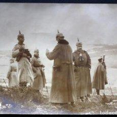 Militaria: FOTOGRAFÍA I GUERRA MUNDIAL - ESTADO MAYOR EN EL FRENTE: EJÉRCITO ALEMÁN. FECHADA 10 MARZO 1915.. Lote 76667327