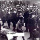 Militaria: LLEGADA A BARCELONA PRIMEROS AMERICANOS BRIGADAS INTERNACIONALES RUMBO ALBACETE GUERRA CIVIL. Lote 76837419