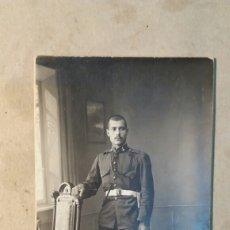Militaria: FOTO ANTIGUA.MILITAR DE ARTILLERÍA A CABALLO.1920. Lote 112563300