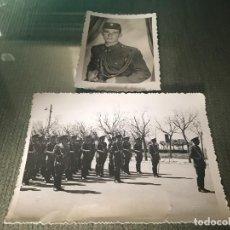 Militaria: LOTE FOTOGRAFÍAS ANTIGUAS MILITARES ESPAÑOLES. Lote 77286409