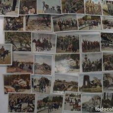 Militaria: DER WELTKRIEG 32 CROMOS I GUERRA MUNDIAL EN COLOR . AÑO 1936. Lote 77346213